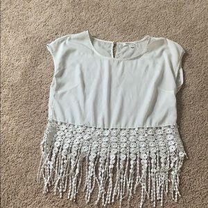 Fun white blouse